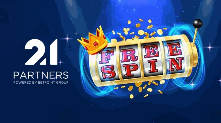 21 Partners' Latest Free Spin Promotions