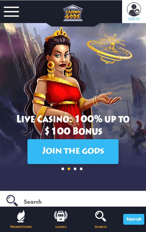 Casino Gods Bonus