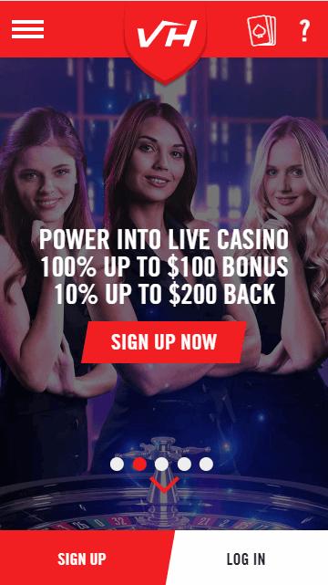 Casino Vegas Hero