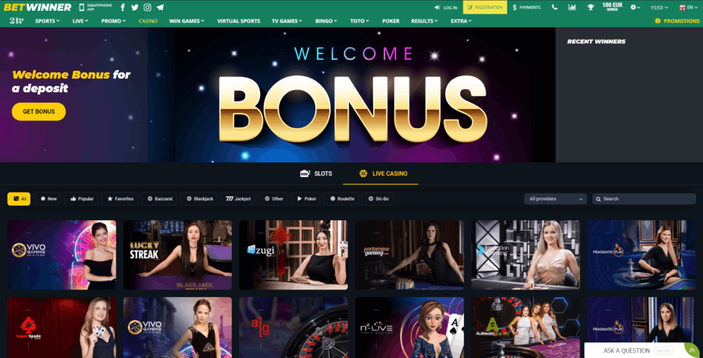 Betwinner Review