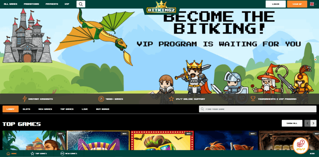 Bitkingz Casino Review
