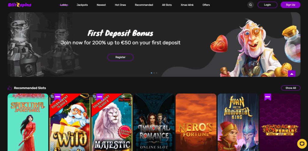 Blitzspins Casino Review