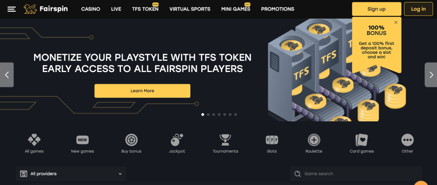 fairspin casino review