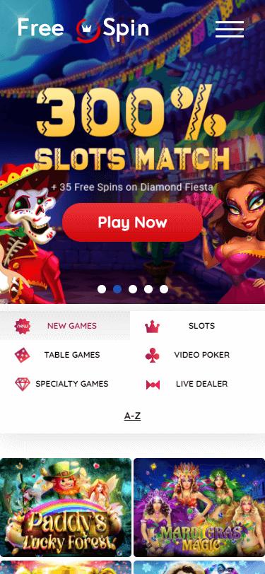 Free Spin Casino Bonus