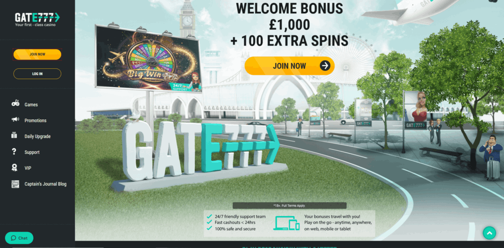 gate777 casino review