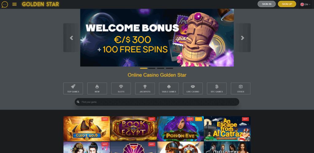 Golden Star Casino Review