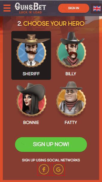 Casino GunsBet Bonus