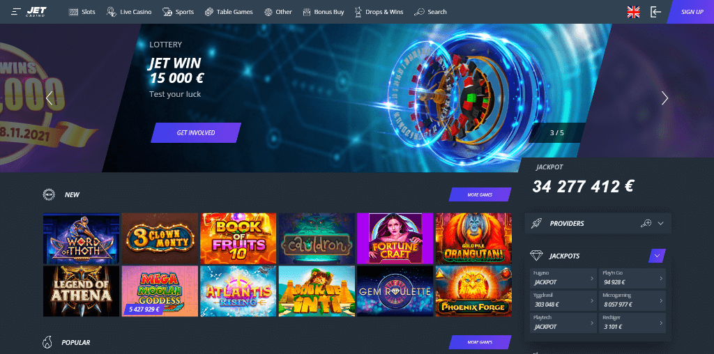 Jet Casino Review