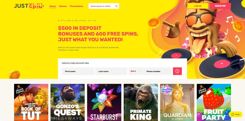 just spin casino review