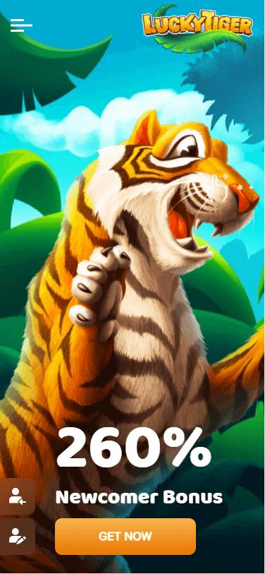 lucky tiger casino bonus