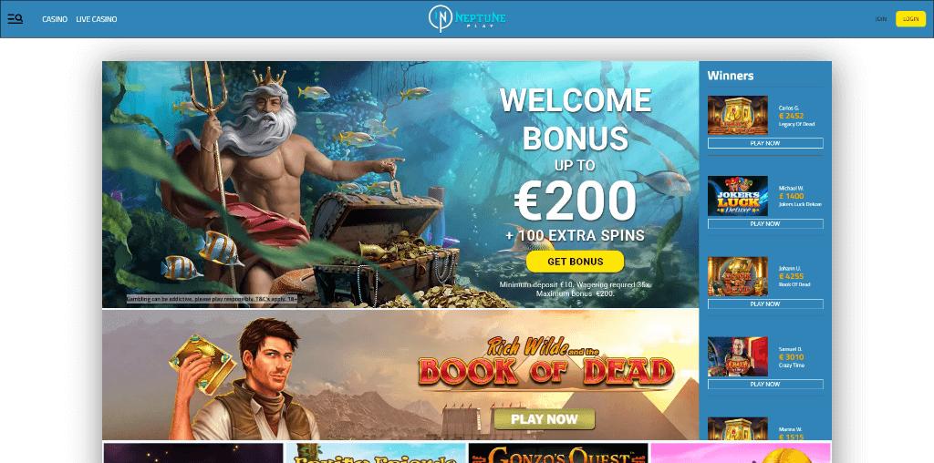 Neptune Play Casino Review