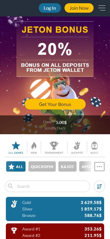 Power Casino Bonus
