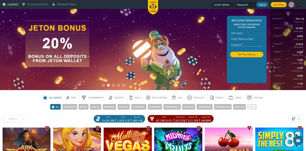 Power Casino Review