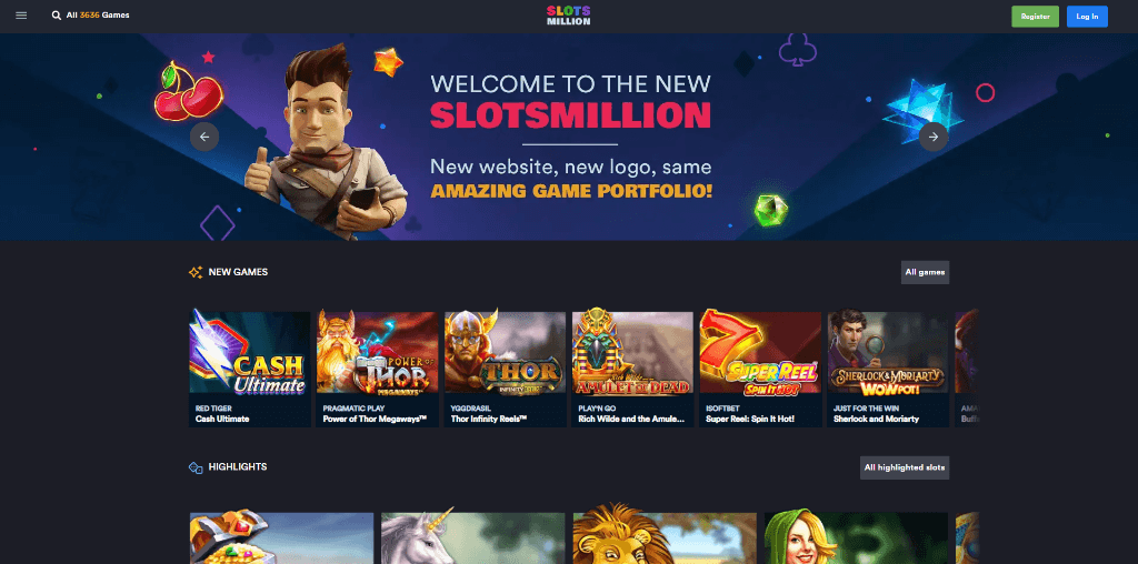 SlotsMillion Casino Review
