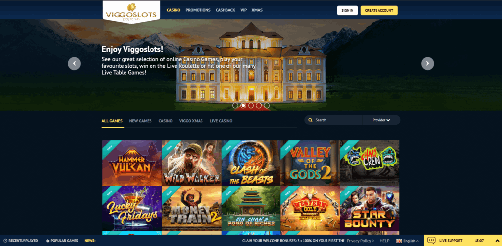 Viggoslots Review