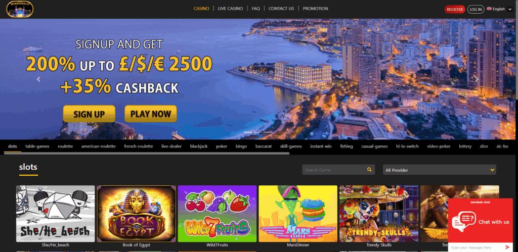 winmonaco casino review