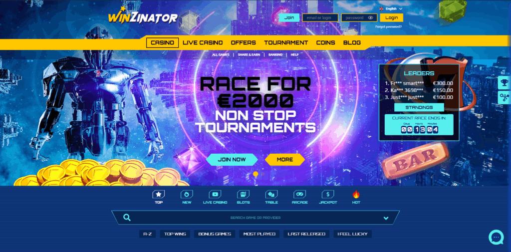 winzinator casino review